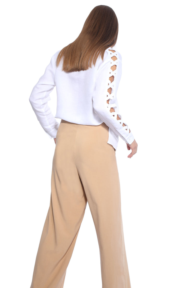 Silk_beige_trousers_Odysay