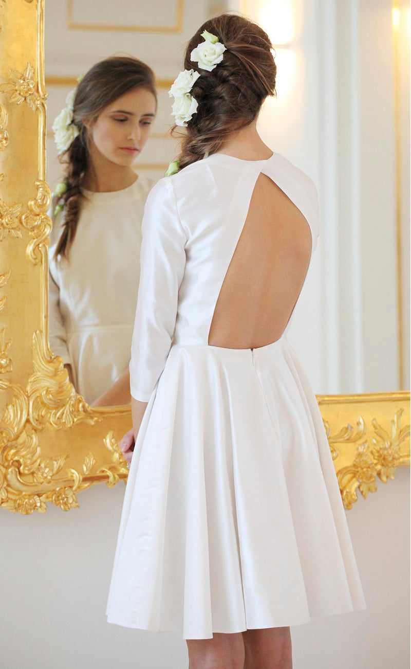 Audrey open back dress Odysay