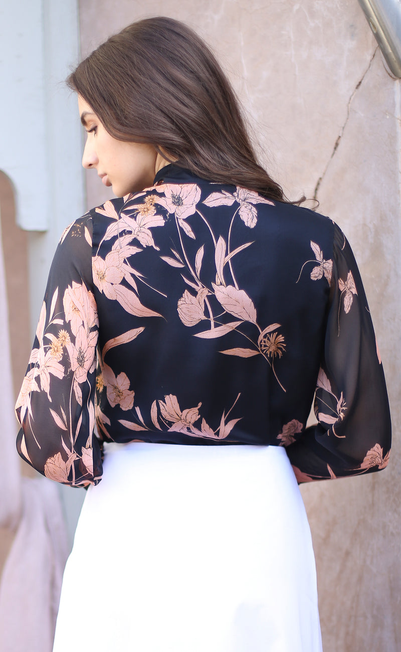 Florence Floral-print blouse Odysay