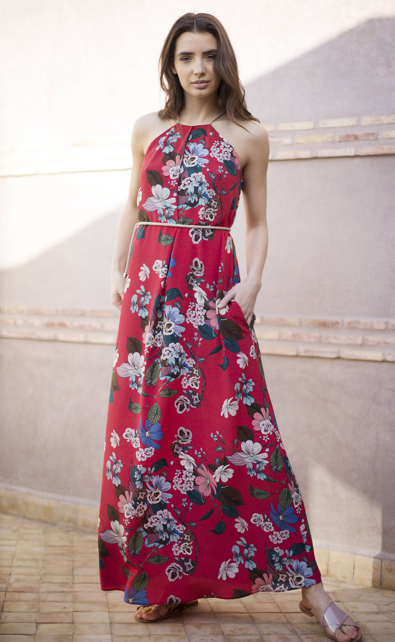 Frida Floral-Print Dress Odysay
