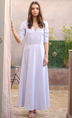 Simone Maxi Cotton Dress Odysay