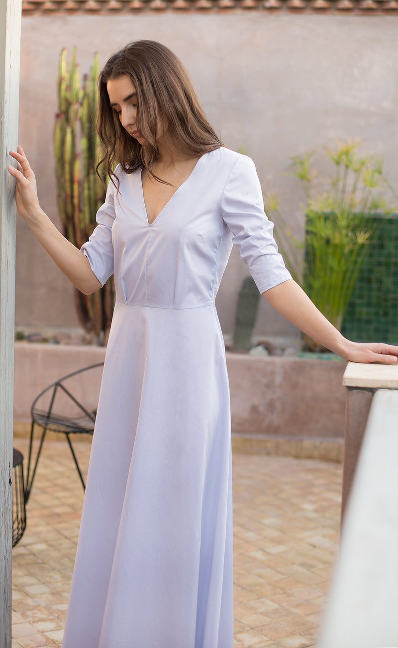 Robe longue en cotton Odysay