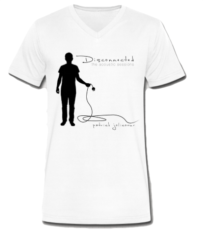 Disconnected v-neck / men's - the PARAVEL store