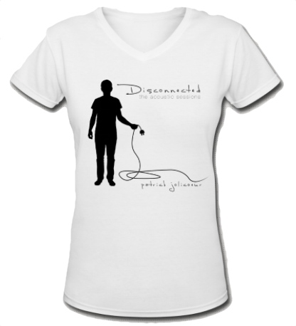 Disconnected v-neck / women's - the PARAVEL store
