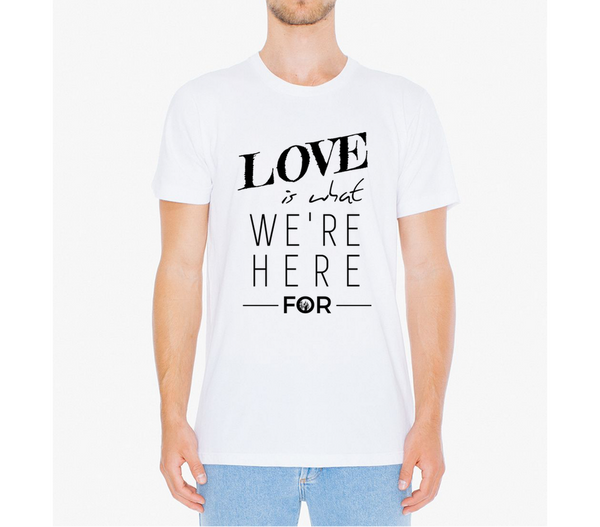 Love is What We're Here For long tee / unisex - the PARAVEL store
