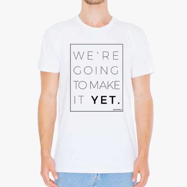 Make It Yet long tee / unisex - the PARAVEL store