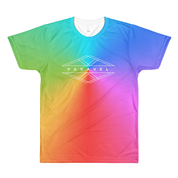 colour my world PARAVEL geometry logo tee - the PARAVEL store
