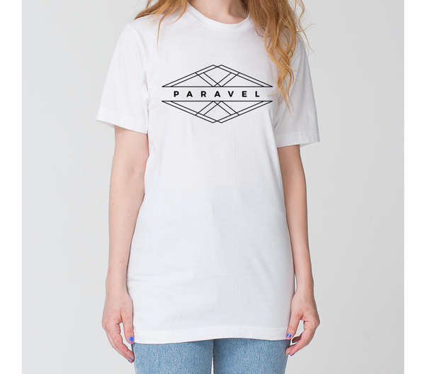 PARAVEL geometry logo long tee / unisex - the PARAVEL store