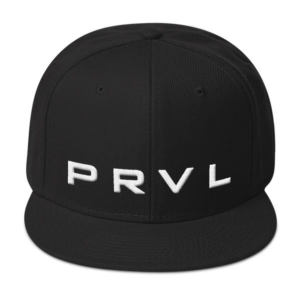 PRVL logo wool blend snapback - the PARAVEL store
