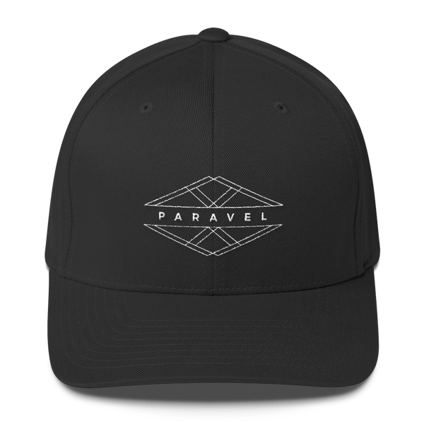 PARAVEL geometry logo flexfit hat - the PARAVEL store