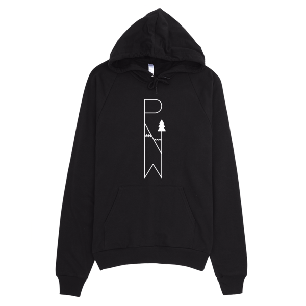 #PNW pullover hoodie - light logo / unisex - the PARAVEL store