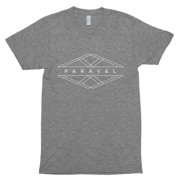 PARAVEL geometry logo tri-blend tee - light on dark / unisex - the PARAVEL store