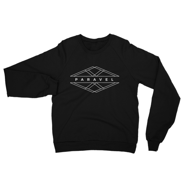 PARAVEL geometry logo crewneck sweater - light logo / unisex - the PARAVEL store