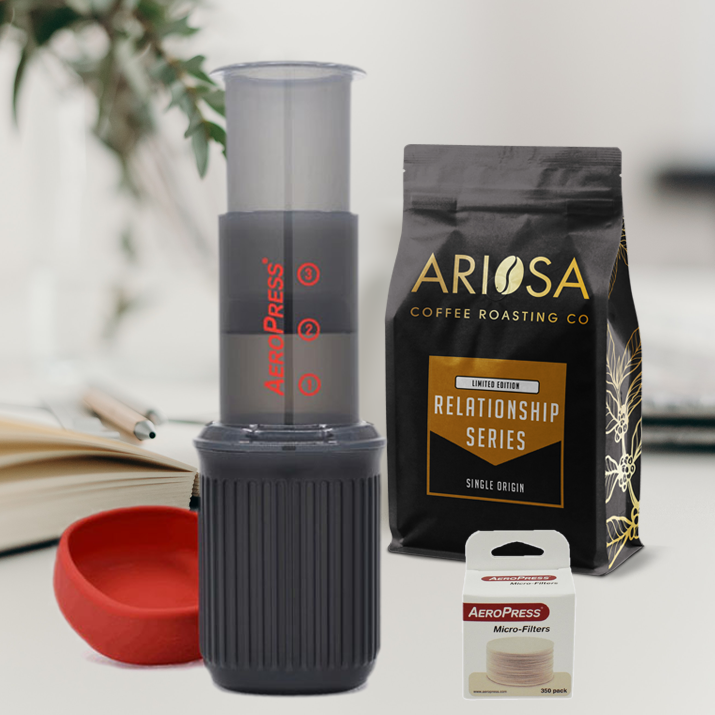AeroPress Go &  Relationship Series Bundle