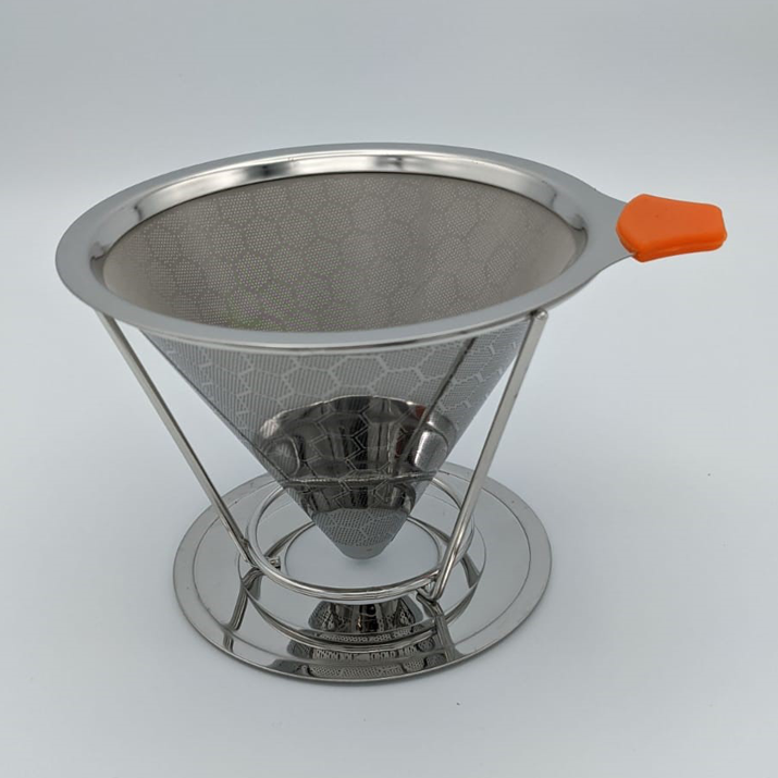 Stainless Steel Pour Over Coffee Reusable Filter