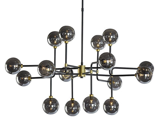 Deimos Chandelier - Large - Smoke Grey - ER2.ca