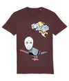 LGP Unisex T-shirt Halloween Friday 13th pigeon