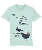 Adult Tee - Dirty Tee - Bird Keeper