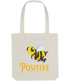 Tote Bag bee positive