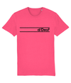 T-shirt - d/Deaf Two stripe logo