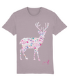 Fletch@ Deer Adults T-shirt Pink Logo