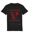 T-shirt- SEED -Anger - Slaughterhouse Red
