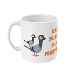 11oz Mug eat sleep fly repeat mug