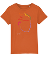 Fletch@ Kid's T-shirt  Special Edition logo rainbow