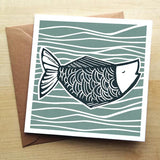Greetings Card -'Catch of the day'