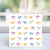 Dinosaurs! Card- Christine Dobbin Illustration