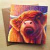 Highland cow - Rachel Froud Card