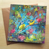 'Bluebirds and Blossom'  Greetings Card