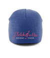 Pull-On Beanie Fletch@rette -white text template