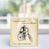 Greeting Card - Birthday bicycle LGP