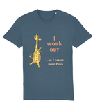 I work Out - Soy Oi - Adults T-shirt