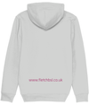 Jayne - Hoodie for Kristy - dark pink text on rear