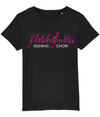 T-shirt - Children's Fletch@rettes signing choir logo
