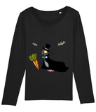 LGP Halloween Ladies long sleeve T-shirt Vampire Pigeon