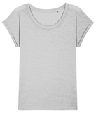 W.A.R. Ladies Lightweight Tee -  White tiger