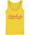 Vest - Ladies - Fletch@rettes signing choir logo black text