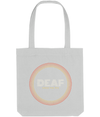 d/Deaf Tote Bag Deaf since the 70's