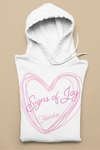 Fletch@ 'Signs of Joy' Adults College Hoodie