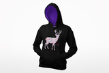 Fletch@ Deer - adults two tone varsity hoodie