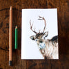 Notebook - recycled paper - Kate Moby  - Reindeer
