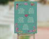 Seating Plan - Vanilla Sundae - Green