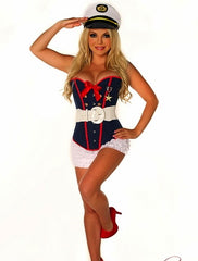 SEXY MARINE COSTUME 4 PIECE - Shop Carley Glam - 1