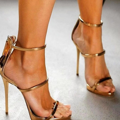 """LANE"" GOLD SANDALS - Shop Carley Glam - 1"
