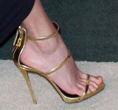 """LANE"" GOLD SANDALS - Shop Carley Glam - 3"