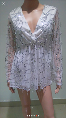 NADIA SEQUIN PLAYSUIT - Shop Carley Glam - 4
