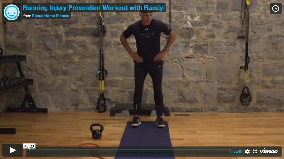 Running Injury Prevention Workout with Randy!